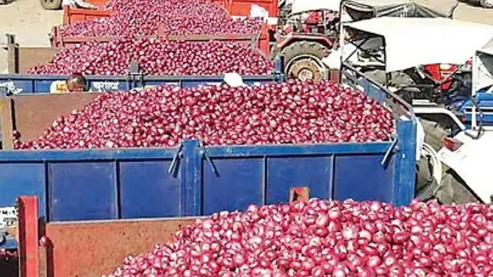 Red, summer onions trade higher
