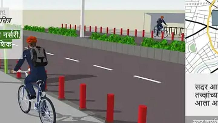 Nashik in top eight for a pop-up cycle track