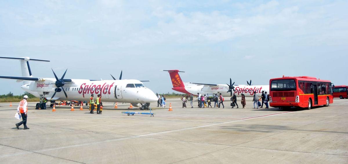 स्पाईसजेटकडून आता हैद्राबाद-नाशिक-सुरत विमानसेवा; २८ मार्चपासून होणार सुरु