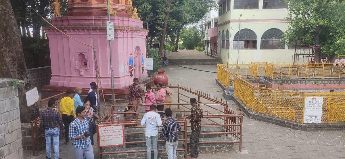 इगतपुरी : टाकेद तीर्थ भाविकांसाठी खुले