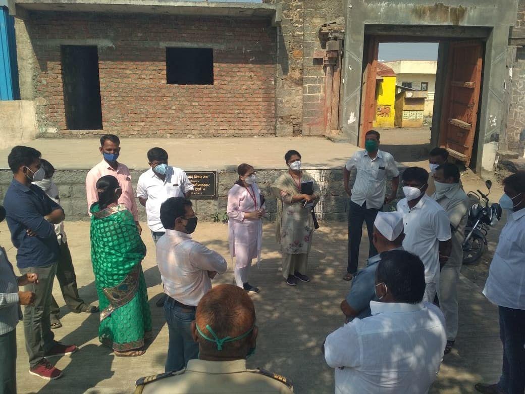 धार्मिक समारंभातून 48 जणांना मिळाला करोनाचा 'प्रसाद'