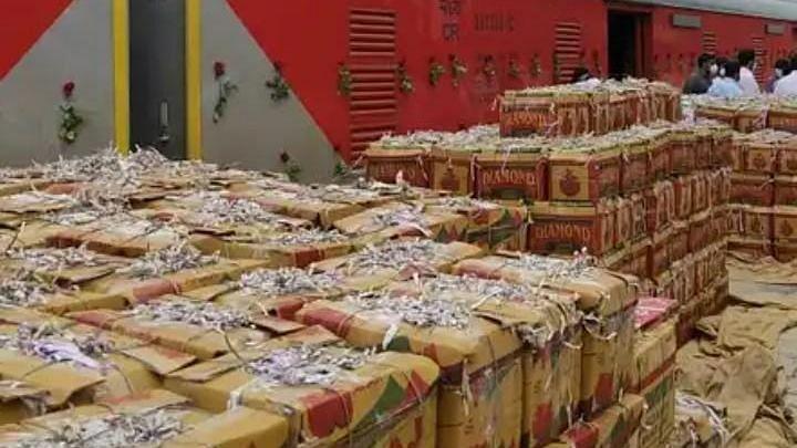 Kisan Rail transports 12,400 tons of freight
