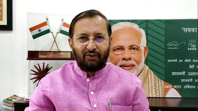 India is walking the talk on climate change: Javadekar