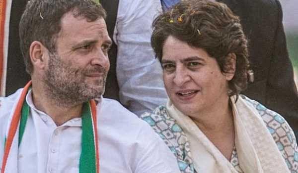 Rahul, Priyanka slams Govt
