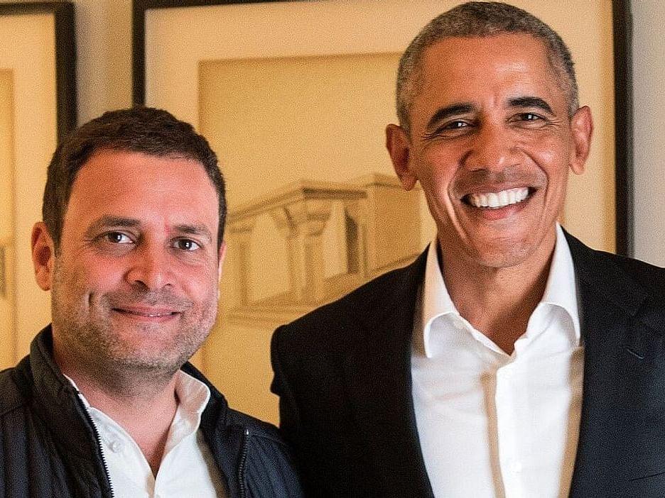 बराक ओबामांच्या आत्मचरित्रात राहुल गांधींचा उल्लेख, म्हणाले...