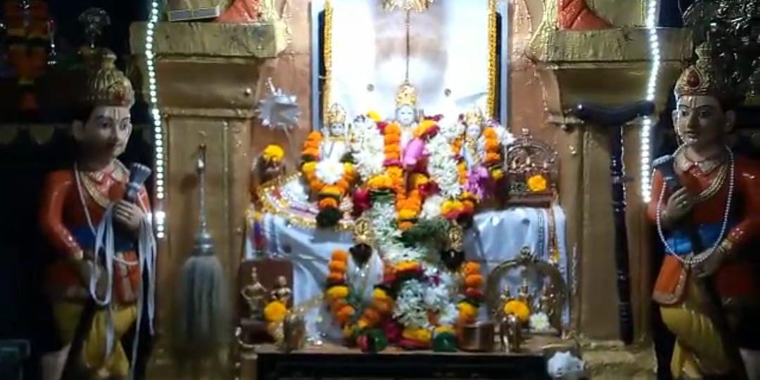 Video : जळगाव Temple Reopen - जळगावातील मंदिरांमध्ये दर्शनासाठी भाविकांची  मांदियाळी
