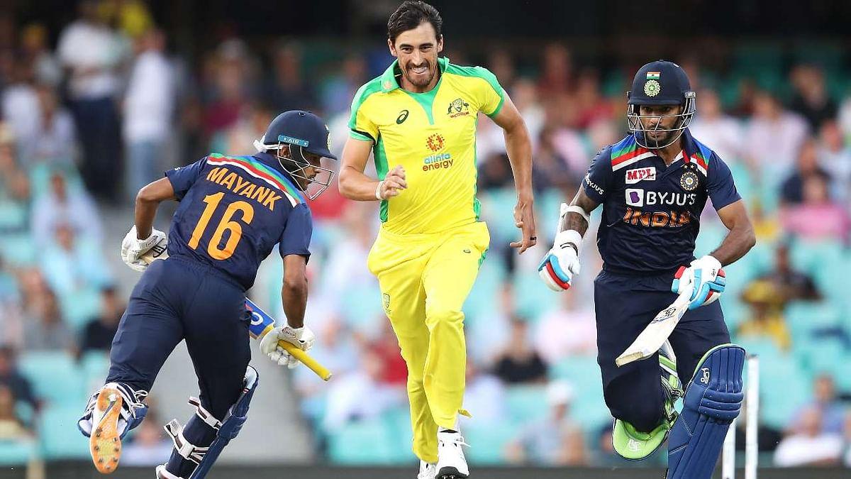 Ind vs Aus 2nd ODI : भारताला विजयासाठी ३९० धावांचं आव्हान
