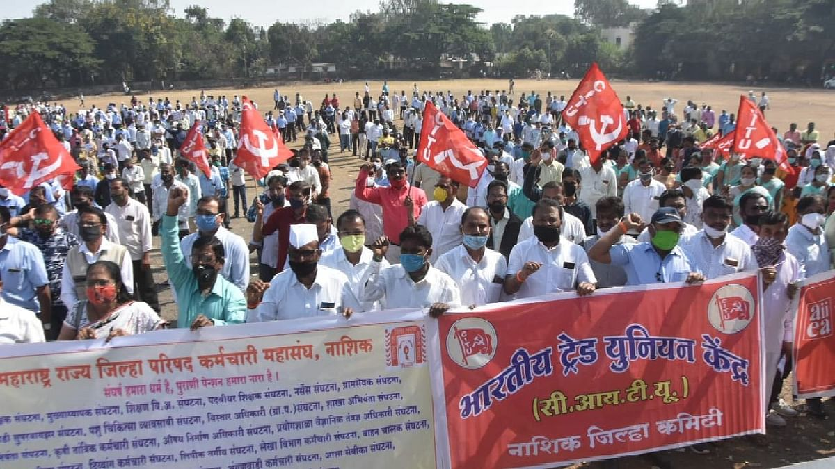 Nationwide strike by trade unions receives good response