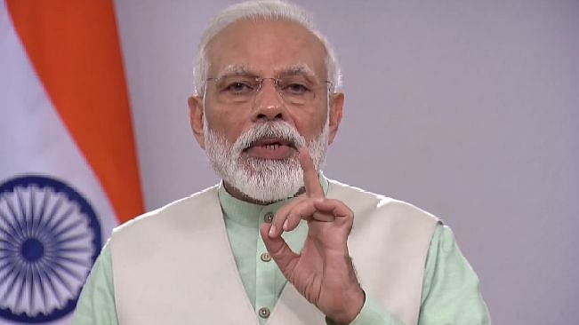 Our aim is to reduce India's carbon footprint by 30-35 pc: PM