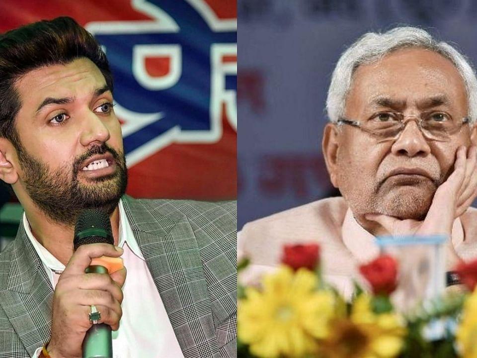 Bihar Election 2020 : चिराग पासवानांची मुख्यमंत्री नितीश कुमारांवर बोचरी टीका