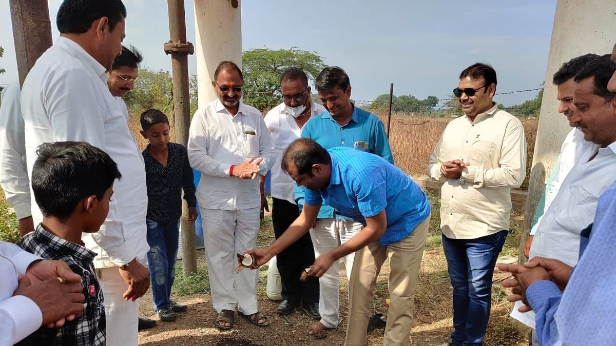 ढोमणे गावाचा पाणी प्रश्न मिटणार
