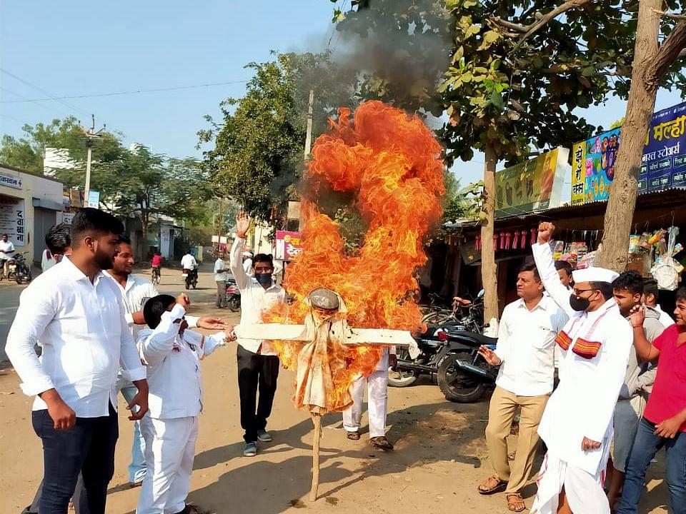 दिल्लीतील शेतकरी आंदोलनाचे पडसाद महाराष्ट्रातही