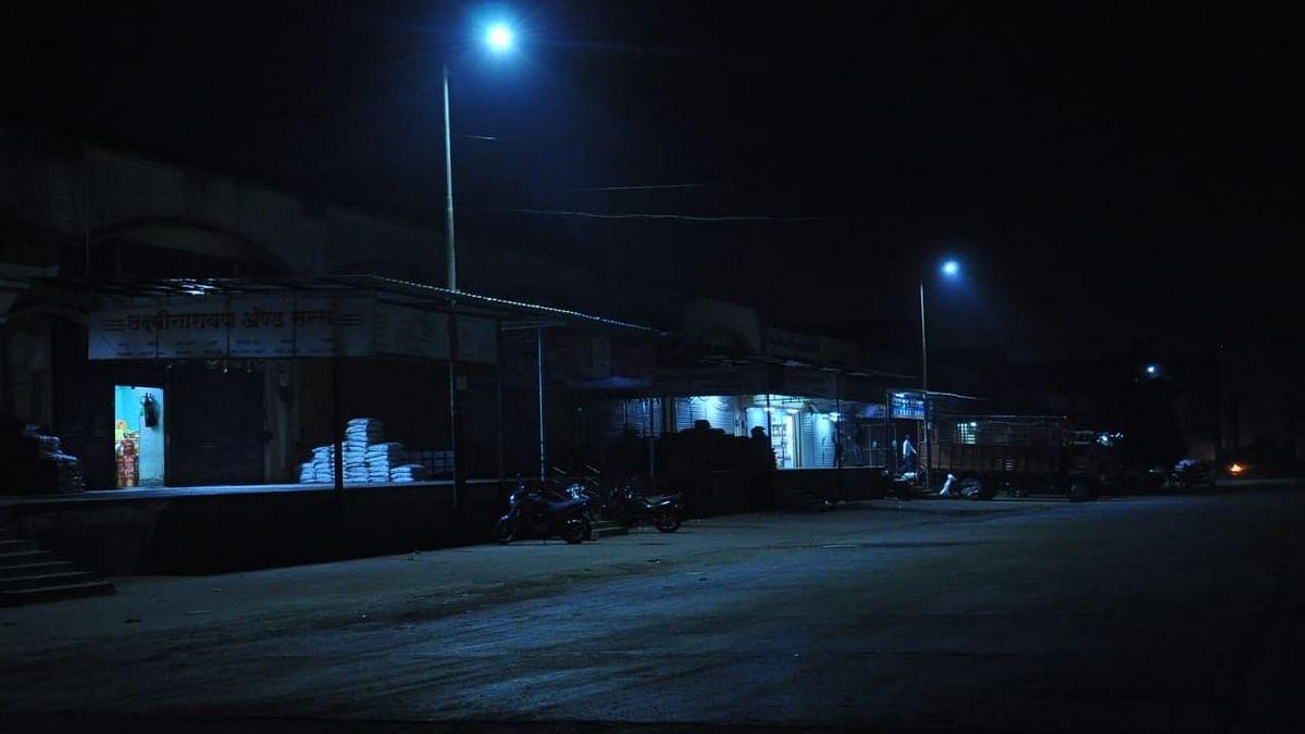 Street lights in Nashik APMC repaired