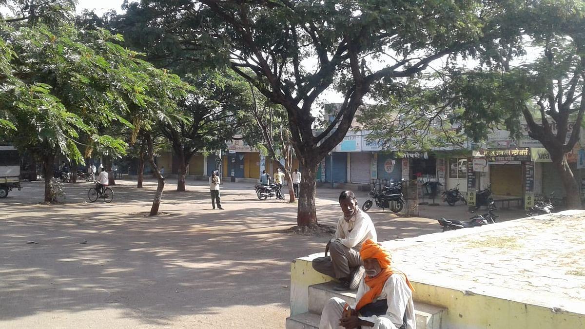 राहुरी तालुक्यातील भारत बंदला संमिश्र प्रतिसाद