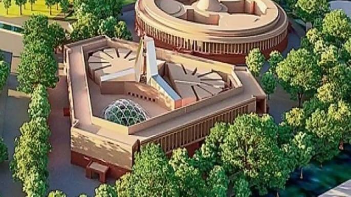 नव्या संसद भवनाचे आज भूमिपूजन