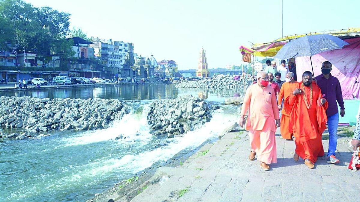 गोदावरी नदी शुद्धिकरण मोहीम राबवा : महामंडलेश्वर सोमेश्वरानंद