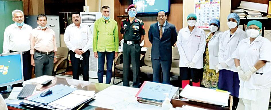 कॅन्टोन्मेंट बोर्ड, हॉस्पिटलला रक्षामंत्री पुरस्कार प्रदान