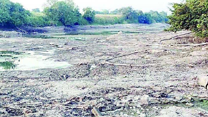 दिंडोरी : 'कादवा नदी'ने डिसेंबरमध्येच गाठला तळ