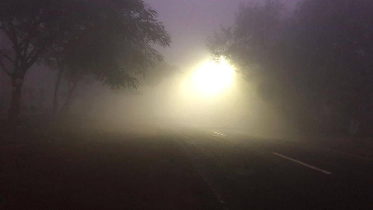 Photo Gallery : नाशिक शहरावर धुक्याची दुलई
