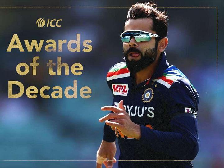 दशकातील सर्वोत्तम क्रिकेटपटूचा पुरस्कार जिंकल्यावर काय म्हणाला विराट, पाहा व्हिडिओ