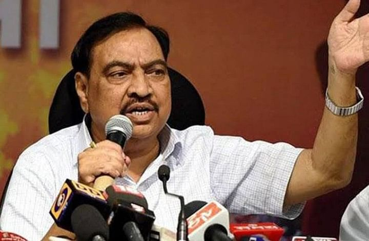 Khadse admits receipt of ED notice