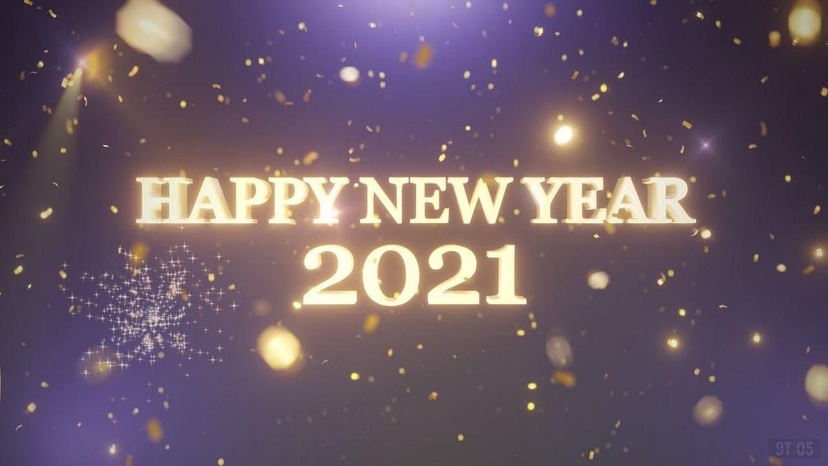 नववर्षाच्या स्वागताची चाहूल !