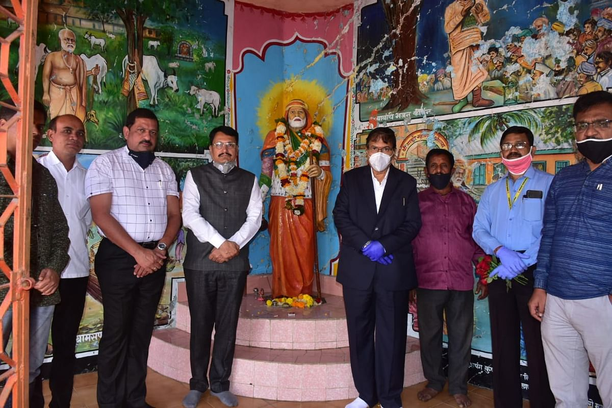 Tributes paid to Sant Gadgebaba Maharaj