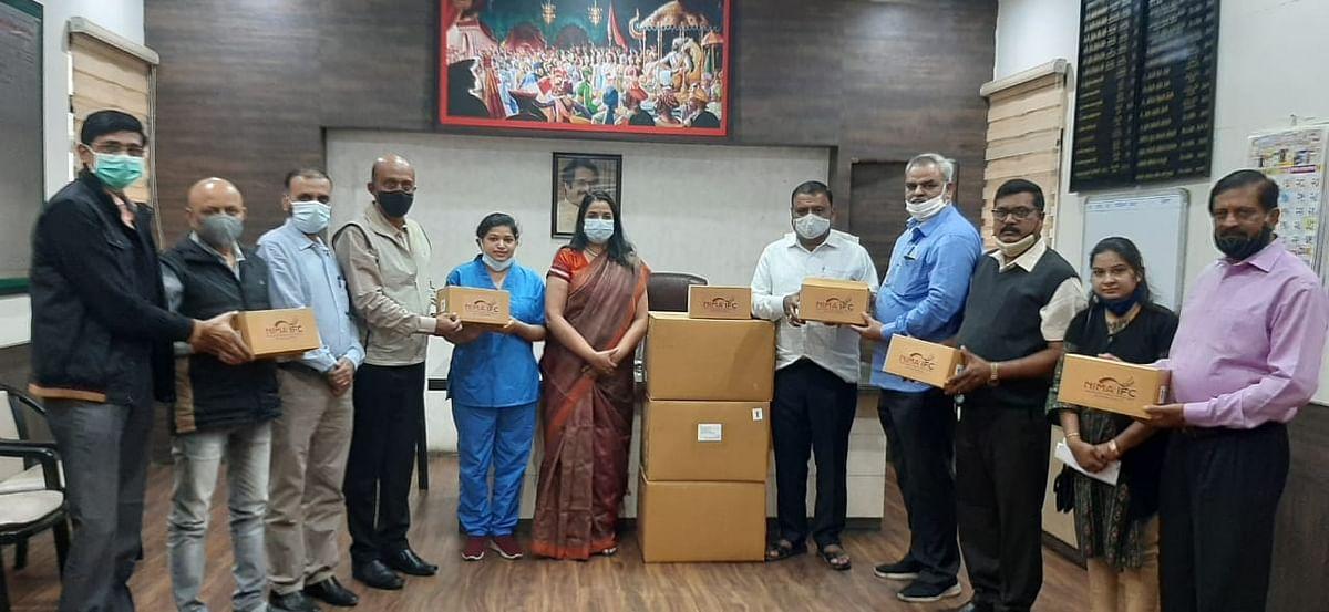 निमाकडून जि.प.आरोग्य विभागास ६० मेडिकल किट