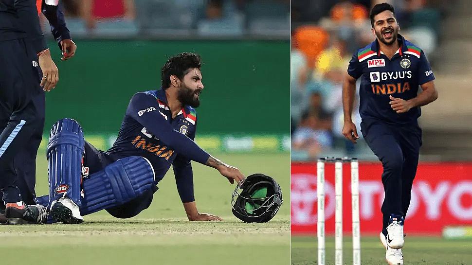 टीम इंडियाला धक्का, रविंद्र जाडेजा दुखापतग्रस्त ; शार्दुल ठाकूरला संधी
