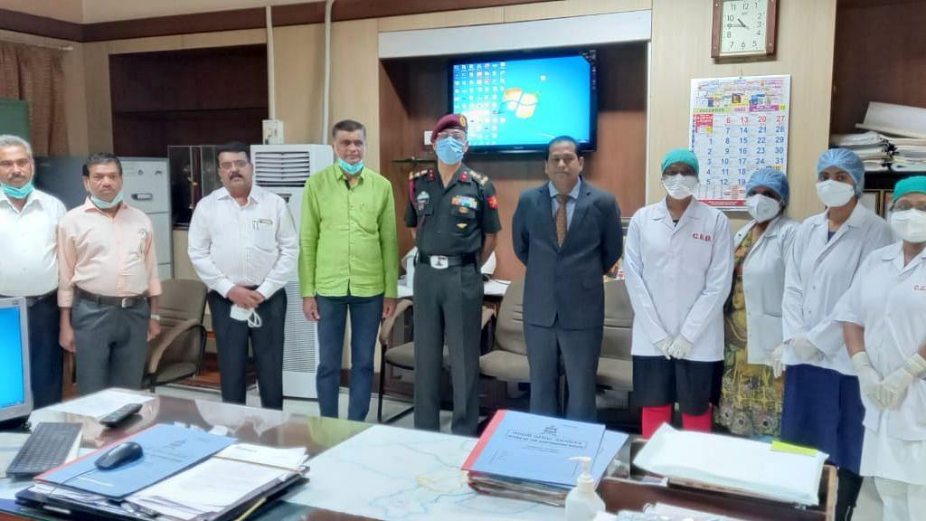 Cantonment General hospital receives Raksha Mantri Award