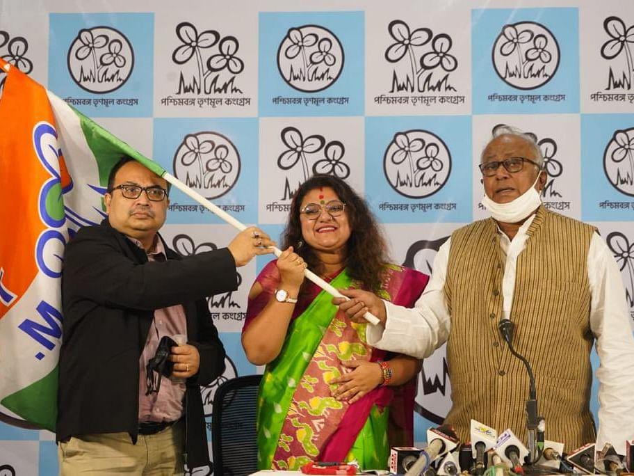 पश्चिम बंगाल : भाजप खासदाराच्या पत्नीचा तृणमूल काँग्रेसमध्ये प्रवेश