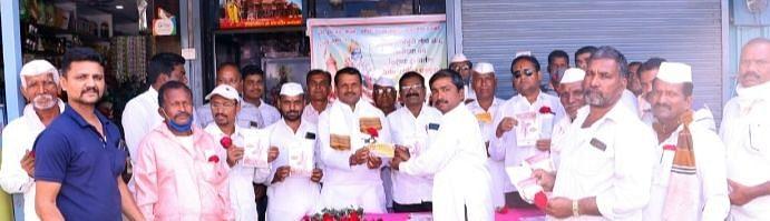 विळदमध्ये राम मंदिराकरिता निधी संकलन केंद्र