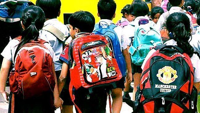 Door-to-door survey to enroll students