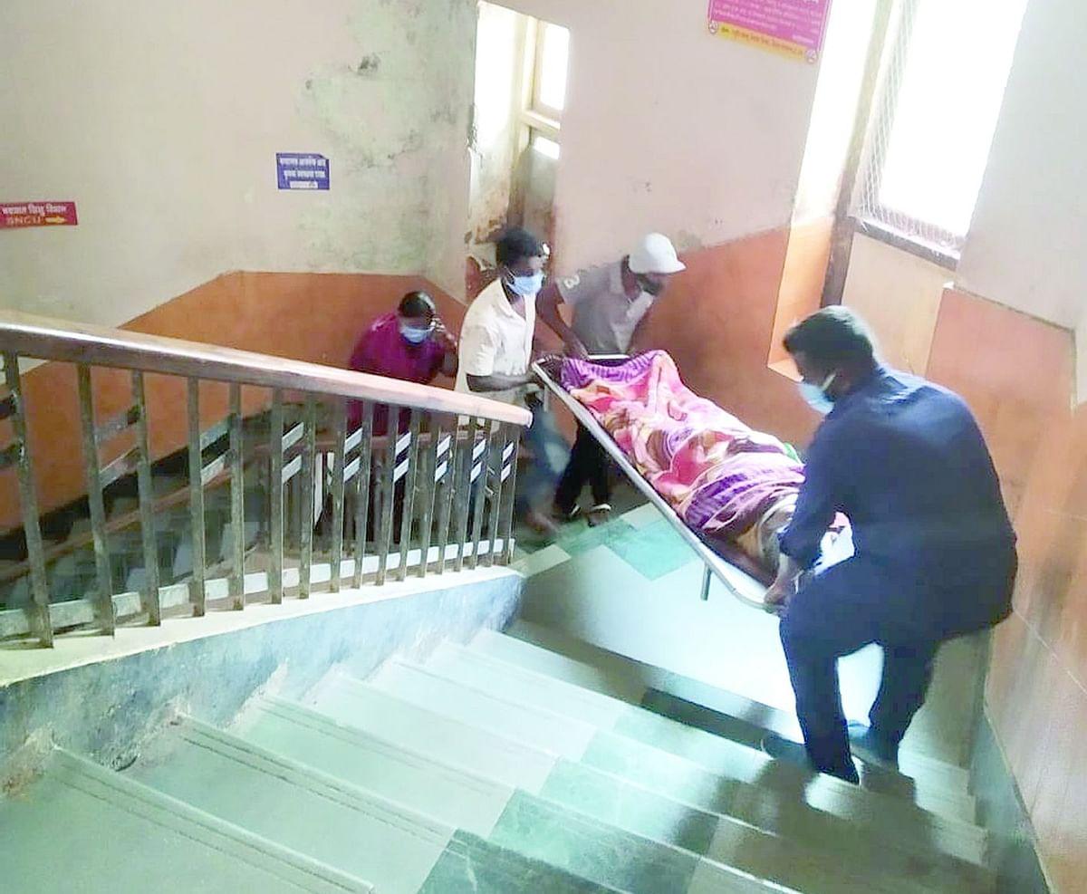 सिव्हीलमध्ये रुग्णांची हेळसांड