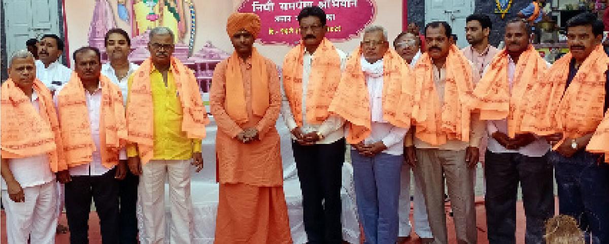 प्रत्येकाने राम मंदिर उभारणीसाठी दान द्यावे : महंत रामगिरी