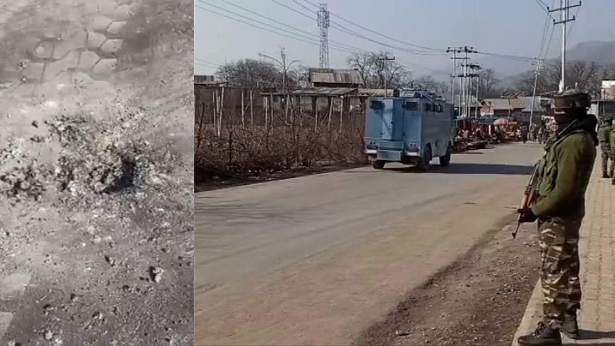 जम्मू-कश्मीर : पुलवामात दहशतवाद्यांचा बसस्थानकावर ग्रेनेड हल्ला