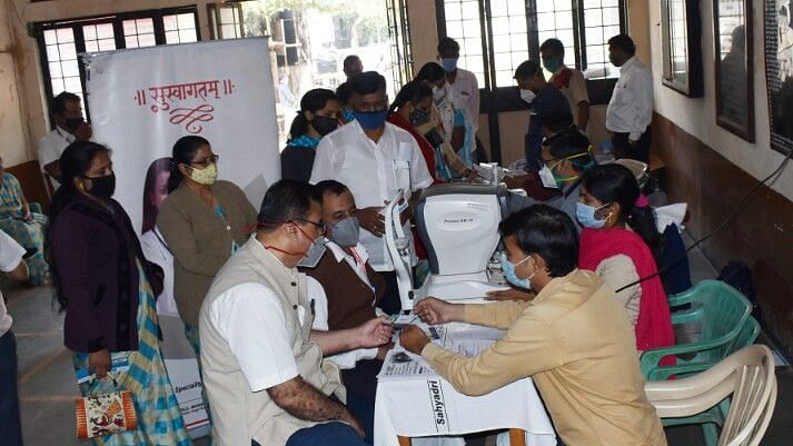 Free health check-up camp at Bhatia College