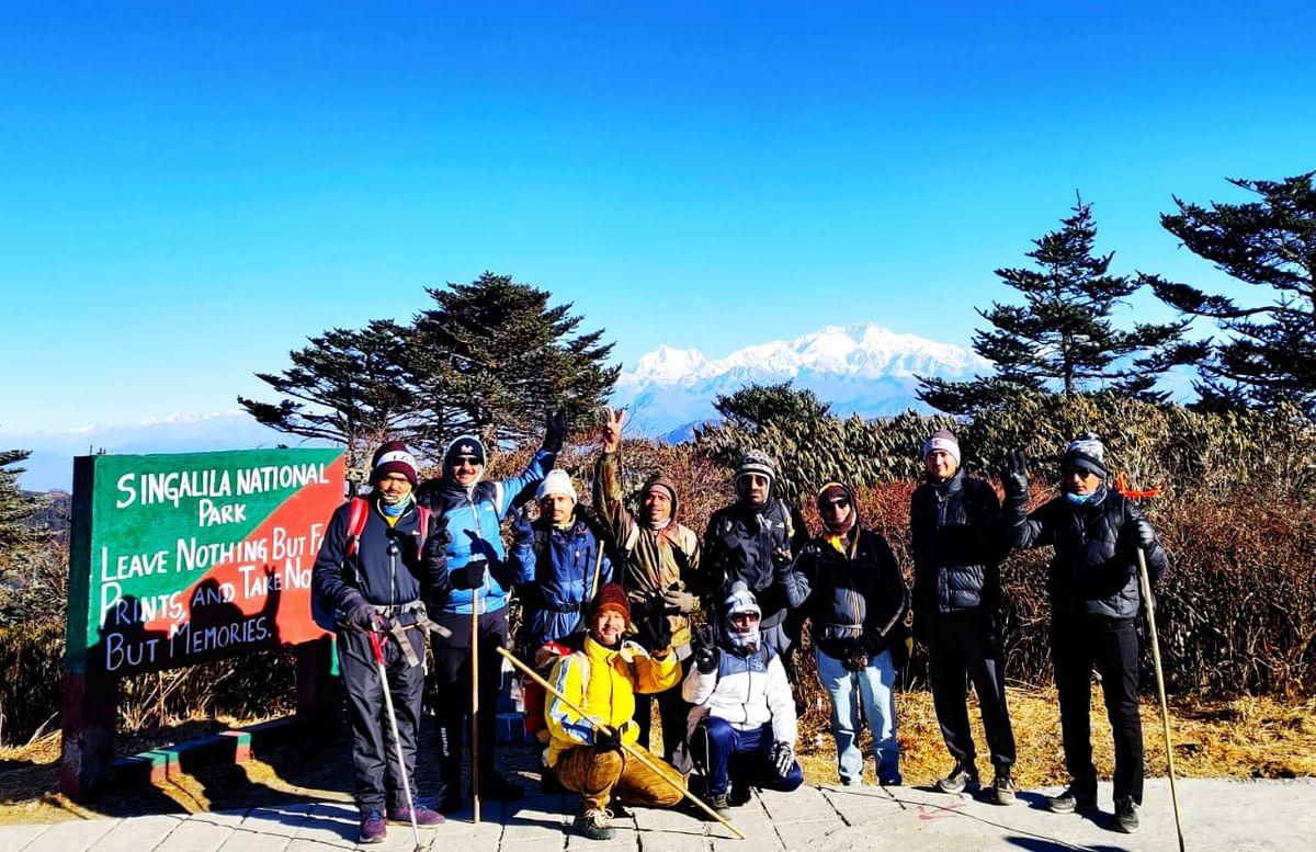 जिल्ह्यातील १० साहसी गिर्यारोहकांनी ५ दिवसात पूर्ण केला ५४ किमीचा प्रवास