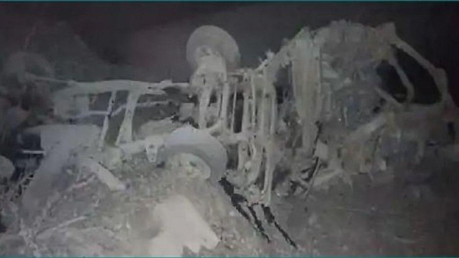 जिलेटीनने भरलेल्या ट्रकमध्ये भीषण स्फोट, आठ जणांचा मृत्यू
