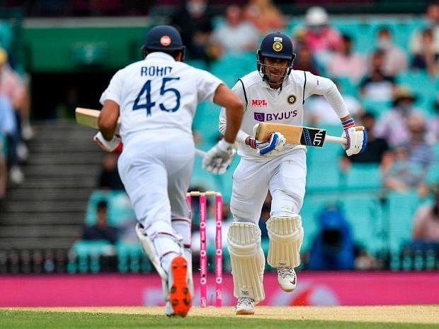 IND vs AUS 3rd Test : दुसऱ्या दिवसाअखेर भारताच्या २ बाद ९६ धावा