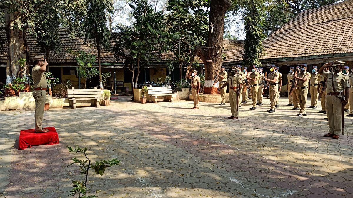 रावेर पोलीस स्टेशनची  पोलिस अधीक्षकांकडून वार्षिक तपासणी