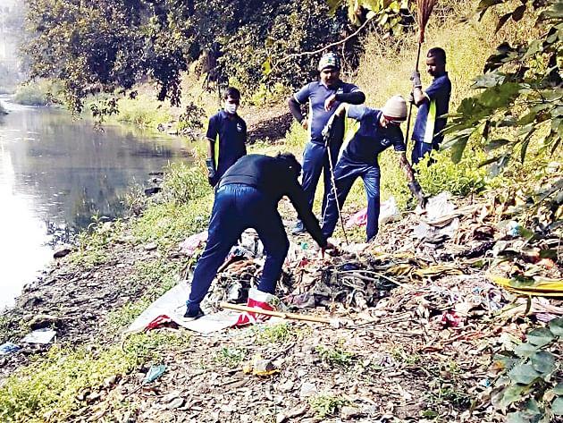 नंदिनी नदीची स्वच्छता