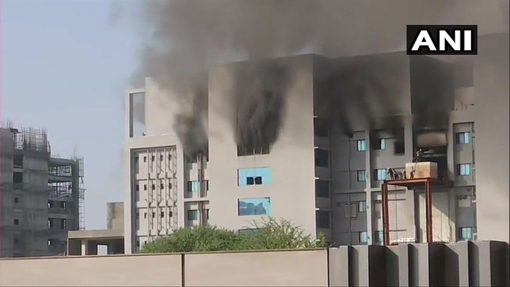 सीरम इन्स्टिट्यूटमधील आगीत ५ जणांचा मृत्यू