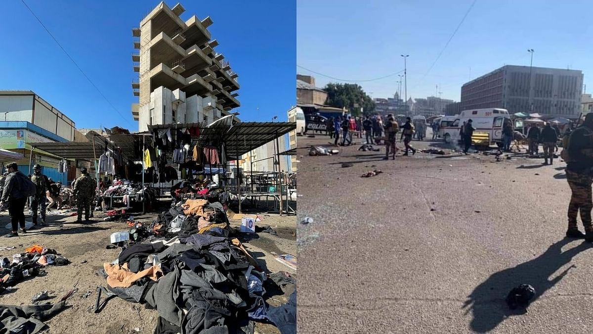 बगदादमध्ये आत्मघातकी अतिरेकी हल्ला, २८ जणांचा मृत्यू