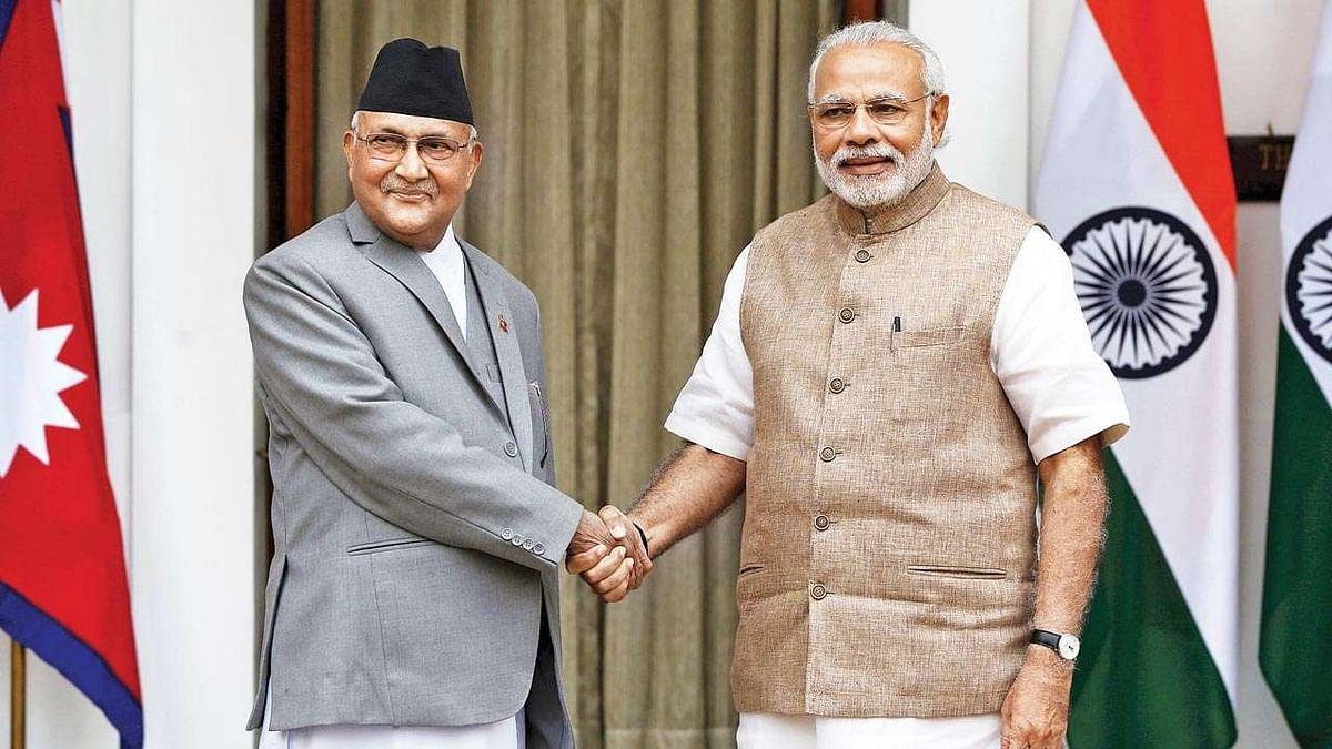 'भारत आणि नेपाळ चांगले मित्र', ओलींचा घुमजाव