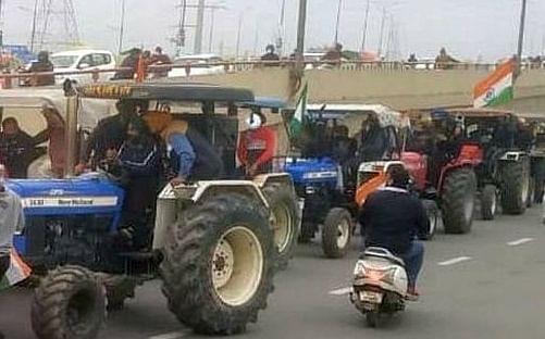 ट्रॅक्टर रॅलीसाठी शेतकऱ्यांनी दिला रुट प्लॅन