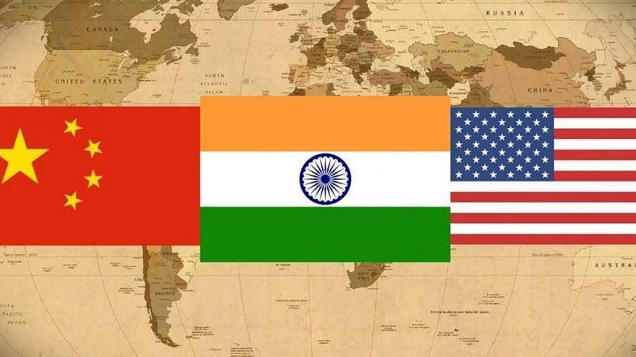 महासत्तांचा संघर्ष आणि भारत