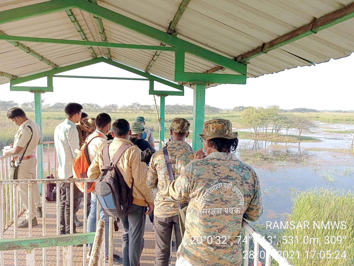 32K birds counted at Nandur Madhyameshwar