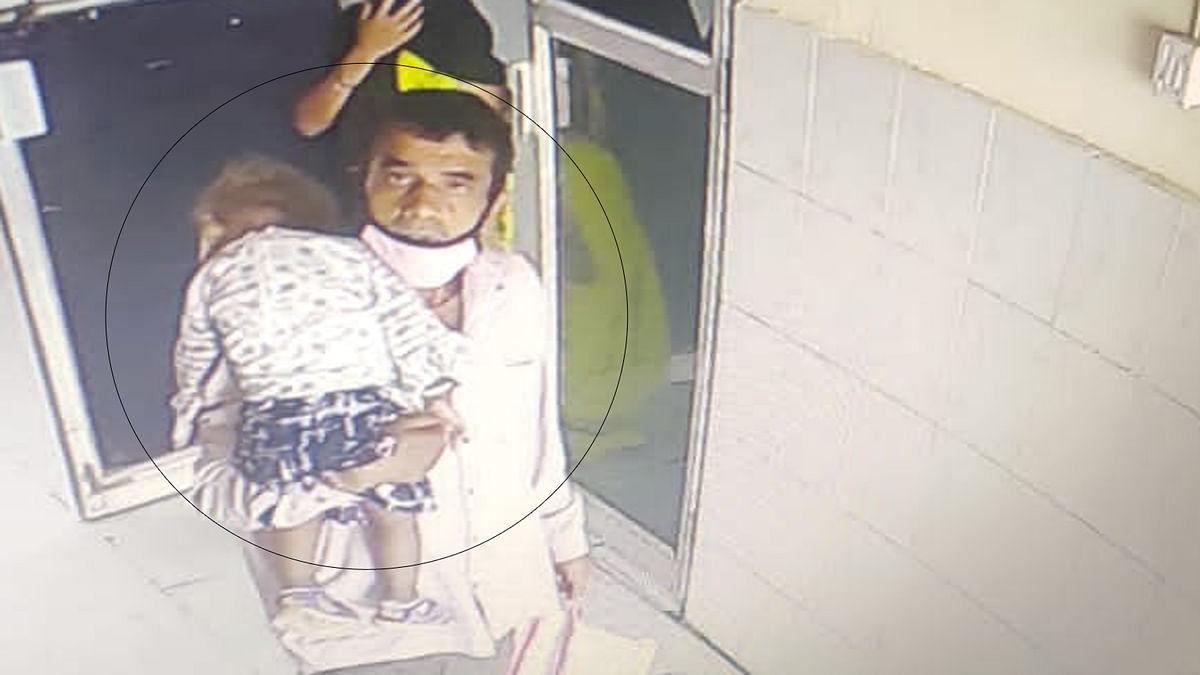 नाशिक जिल्हा रुग्णालयातून दीड वर्षांच्या बालिकेचे अपहरण