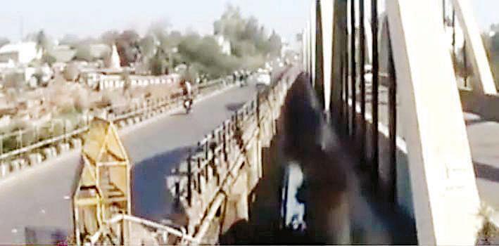 निफाडचा पूल बनला धोकादायक